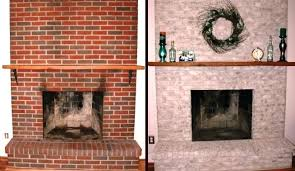 painted brick fireplace before and after image of amazing fireplace remodels before and after pictures painted brick fireplace