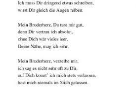 Gedichte Zum Geburtstag Bruder Kurzhaarschnitt Auf Höchste