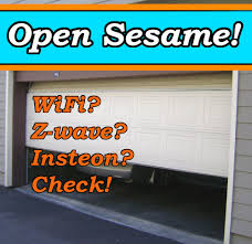 smart garage door opener feature