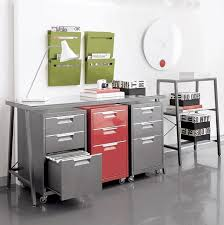 cb2 office. TPS Red File Cabinet CB2 Modern Filing Cabinets And Carts Cb2 Office