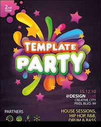 Birthday Invitation Flyer Template Simple Birthday Invitation Flyer Templa On Happy Hour Invite Template Flyer