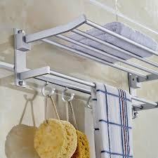 modern double wall mounted bathroom