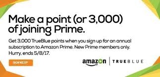 jetblue frequent flyer enrollment code bonus trueblue points for amazon prime signup flyertalk forums