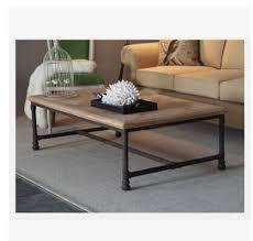 furniture industrial style. American Law Rustic Furniture, Vintage Industrial Style Coffee Table ,  Wrought Iron Rectangular Furniture T