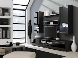 Modern Showcase Designs For Living Room Decorations Dream 2 Whiteblack Modern Wall Units Polandcama