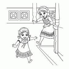 Frozen Kleurplaten Leuk Voor Kids Meisjes Kleurplaten Printen