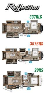 Grand Design Reflection 29rs Reviews Checkout The Floorplans For The Grand Design Fifth Wheel