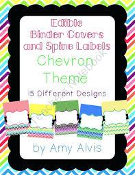 Editable Binder Cover Templates Free Binder Cover Templates Free Teacher Stockshares Co