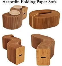 Amazoncom Modern Paper Furniture Multifunctional Foldable Protable