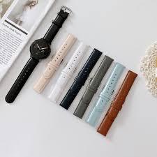 Dây Đeo Da Nhiều Màu Cho Đồng Hồ Thông Minh Samsung Galaxy Watch Active 2  42 chính hãng
