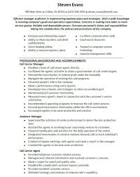 Call Center Resume Examples Beauteous 48 Inbound Call Center Agent Resume Samples Richard Wood Sop