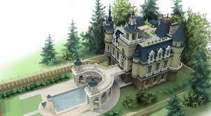 Conceptual design Out-of Town Castle