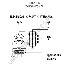 66021636 alternator product details prestolite leece neville 12v Bosch Regulator Wiring Diagram 66021636 high output alternator Basic 12 Volt Wiring Diagrams
