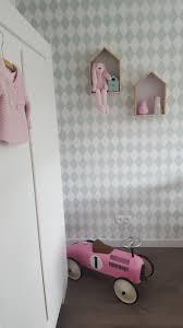 Babykamer Meisje Mint Oud Roze Ferm Living Behang Babykamer