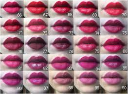 This Epic Chart Of 97 Lipsticks Will Make Finding Your New