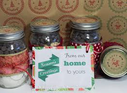 Decorating Canning Jars Gifts Christmas Mason Jar Labels And Tags Plus Free Printables 18