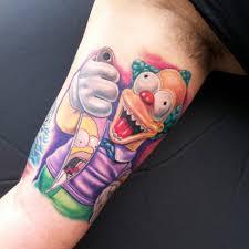 татуировки с героями симпсонов фото новости телеграф