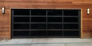 black wood garage doors modern gl door friday