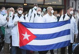 cuba sends health aid to 15 countries