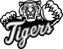 Small Picture Baseball Tigers Playing Baseball Coloring Page Wecoloringpage