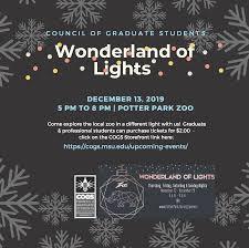 Wonderland Of Lights Lansing Mi Wonderland Of Lights At Potter Park Zoo With Cogs On