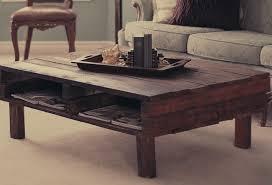dark rustic wood coffee table rustic coffee tables