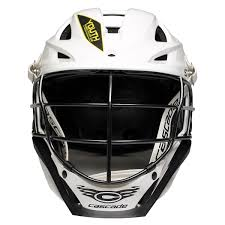 Cascade S Youth Lacrosse Helmet White