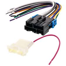 wiring harness for car stereo wiring image wiring metra 70 1859 car stereo wiring harness for 1999 2002 gm vehicle on wiring harness for