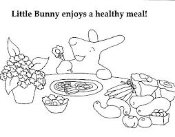 Healthy And Unhealthy Food Coloring Pages Healthy Foods Coloring