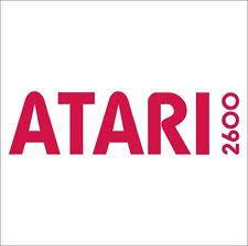 Atari 2600 Logo Vintage Retro Gaming Console Car Wall Fridge Sticker Decal