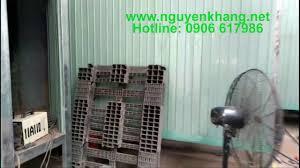 Lắp đặt bếp hồng ngoại 1602A cho lò sấy sơn tĩnh điện 0906617986 - YouTube