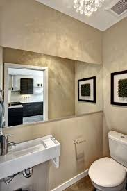 Powder Room Design Ideas 5 Tags Modern Powder Room With Custom Mirrors High Ceiling Wall Mounted Sink Toto Cst416m