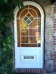 door with mail slot mail slot in door security door with mail slot sensational arch top door with mail slot