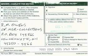 Free Mail Sample Classy 44 Best Usps Certified Mail Return Receipt Gallery Best Invoice