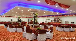 decorate function hall effectively