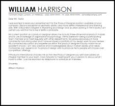 Product Designer Cover Letter Sample Cover Letter Templates Examples