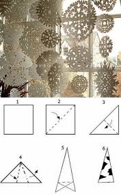 Schneeflocken Aus Papier Ausschneiden Anleitung Basteln