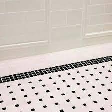 mosaic bathroom floor tile black white. 31 retro black white bathroom floor tile ideas and pictures mosaic o