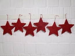 6 X Sterne Weihnachten Fensterdeko Stern Weihnachtsdeko