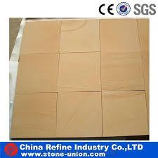 china yellow sandstone tiles slabs