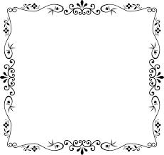 vintage black frame png. Beautiful Black Decorative Vintage Style Frame Intended Black Png U