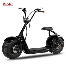 rooder fat wheel harley electric scooter big wheel bike with