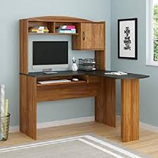 home office table. computer desk corner l-shaped ergonomic study table hutch home office
