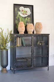 Short Media Cabinet Short Iron And Glass Cabinet Glass Cabinets Glasses And Cabinets