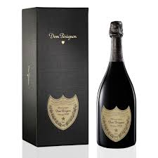 a bottle of dom perignon
