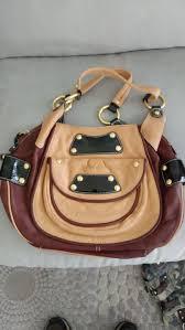 leather handbag purse b makowsky new
