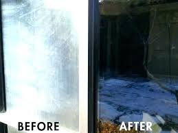 removing water stains on glass how to clean hard water stains off glass from stain removal removing water stains on glass remove hard