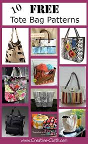 Free Tote Bag Patterns New 48 Free Tote Bag Patterns Creative Cloth Studio