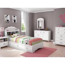 youth bedroom sets girls: quick view tiara twin platform customizable bedroom set