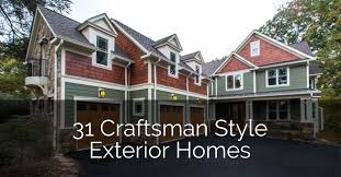 31 craftsman style house exterior